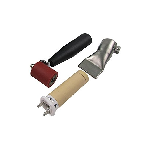 Bhoss 1600w 120v Hot Air Plastic Welding Gun Heat Gun Hot Air Gun Pvc Welder Plastic Welding for Pvc,pp,pe ,Pvdf by Bhoss (Image #2)