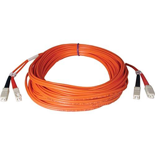 Tripp Lite N506-50M 164' Multimode Duplex 50/125 Fiber Optic Patch Cable SC/SC - 50M (164 Feet)