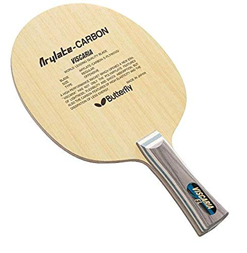 Great Deal! Butterfly Viscaria Blade | FL or ST Handle | Professional Table Tennis Blade | 5 Wood + ...