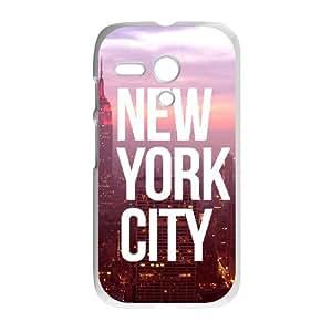 New York city Motorola Moto G Perfect Design Case Cover Protector Bumper