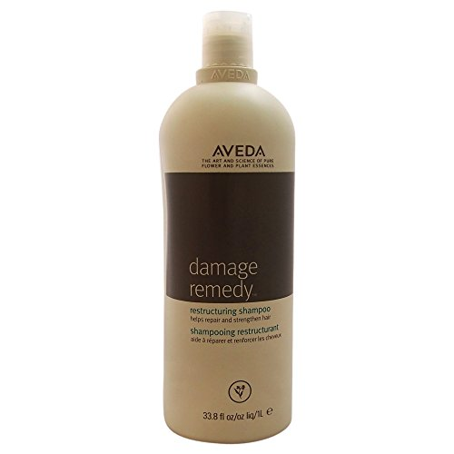 Aveda Damage Remedy Shampoo 33.8oz with Quinoa Protein Helps Repair and Strengthen Damaged Hair (Best Damage Repair Shampoo And Conditioner)