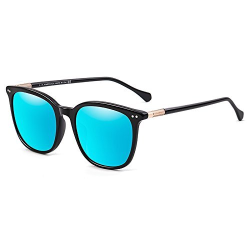 Luz Sol Gafas Cuadradas De Viento Decoración Negro De Sol Los Conducción Gafas Gafas Para De Hombres Gafas Mujer LLZTYJ De Coche Regalos Hombre Para Sol De Cumpleaños blue tablet A E Sol Gafas RPdqtwI