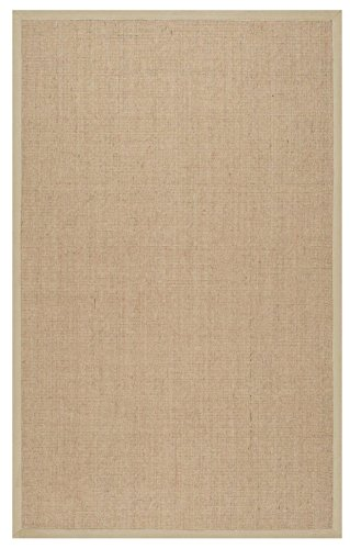 nuLOOM Beige Machine Woven orsay sisal rug Area Rug, 8' x (Large Sisal Rugs)