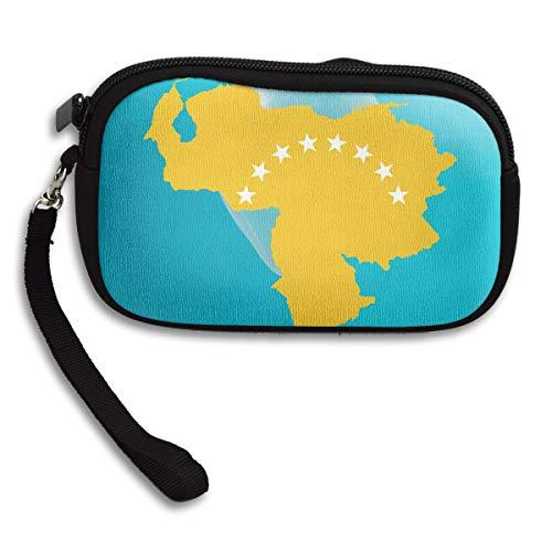 Gold Portable Bag Small Deluxe Receiving Purse Map Dictator Venezuela No Printing More zx50PXq