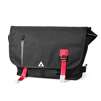 49c0937af5a GoFar Classic Messenger Bag Large Nylon Courier Bag School Commuter Bike Messenger  Shoulder Bag Fits 15.6
