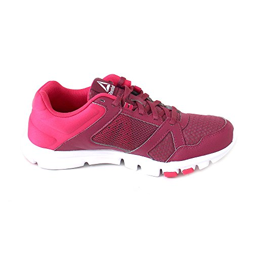 Berry Violett Trainette Damen Yourflex Mt Pink Twstd Fitnessschuhe Reebok White Twstd 10 qx8YZdqw