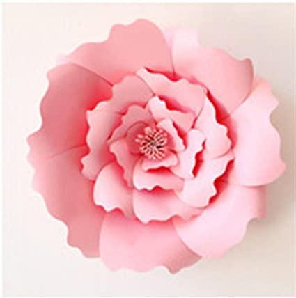 Amazon Com 1pcs Large 16 Diy Paper Flowers Decorations For Wall