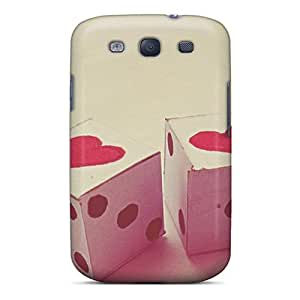 Galaxy S3 Cover Case - Eco-friendly Packaging(love Dices)