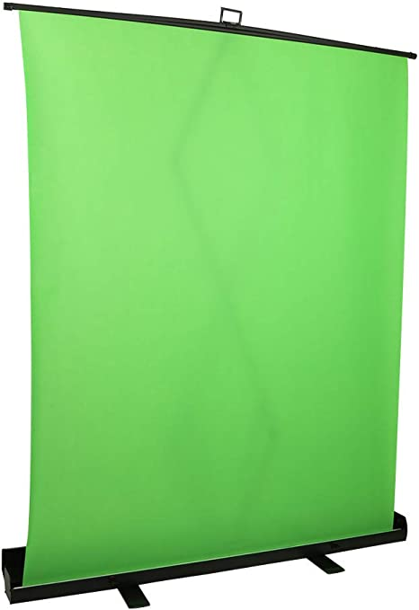 Elgato Green Screen wrinkle-resistant chroma-green fabric Renewed aluminum hard case ultra-quick setup and breakdown Collapsible chroma key panel for background removal with auto-locking frame