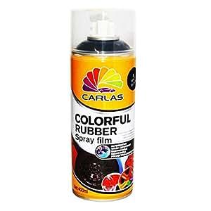 Carlas Colorful Rubber Spray Film-400ml-matte Black