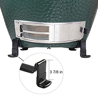 KAMaster Table Nest fit for Large Big Green Egg,Kamado Ceramic Egg BBQ Grill Smoker Authentic Big Green Egg Parts & Accessories (Fit for L BGE)