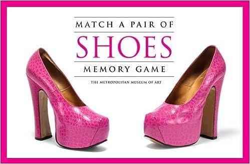 a58e7fe557b2 Match a Pair of Shoes Memory Game  The Metropolitan Museum of Art   9781856699075  Amazon.com  Books