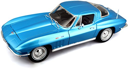 - Maisto Die Cast 1:18 Scale 1965 Chevrolet Corvette (Colors May Vary)