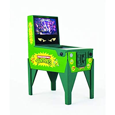 Boardwalk Arcade Teenage Mutant Ninja Turtles Electronic Pinball, Multi: Toys & Games