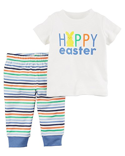 Carters 2 Piece Easter Top And Pant Set 18 Months