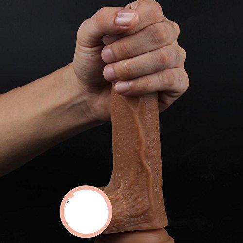 silicona pura de doble capa,Masajeador consoladores con para las mujeres con consoladores orgasmo continuo consolador con extra fuerte succión taza real realista réplica de pene de dong-A ee7b0d