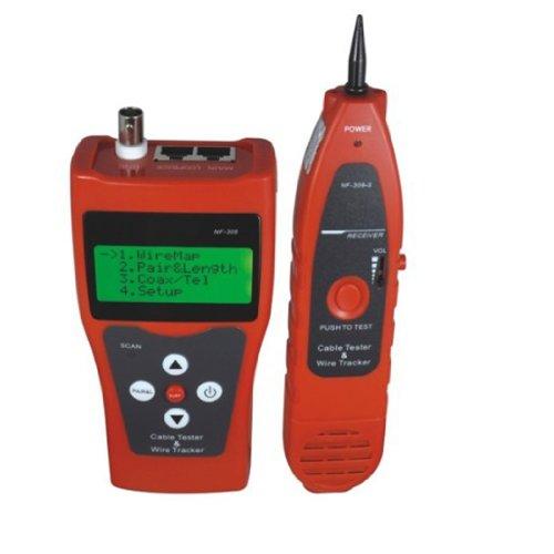 Telephone Master Hub (Noyafa D3IN0005 NF-388 Multipurpose Network LAN Phone Audio Cable Tester with 8 Far-end Passive Test Jacks)