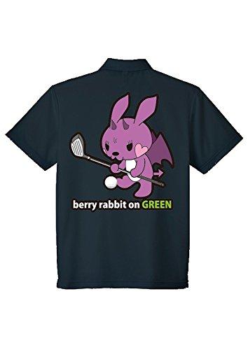[berryrabbit amazon店] ゴルフウェア ポロシャツ ゴルフ カラー サイズ各種あり