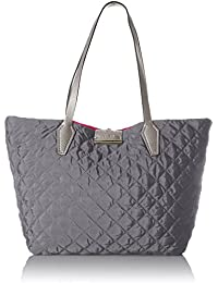 Bobbi Quilted Nylon Inside Out Tote