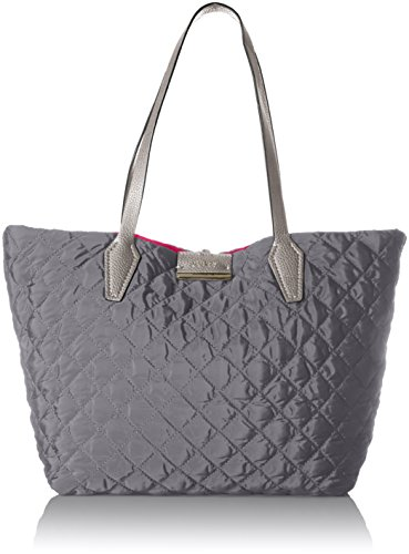 GUESS Bobbi Quilted Nylon Inside Out Tote