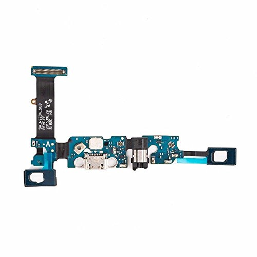 ThePerfectPart OEM Samsung Galaxy Note 5 N920A Charging Charge Port Flex Cable Prime Repair with Mic Dock Connector Original AT&T (Usb Daughter Board)
