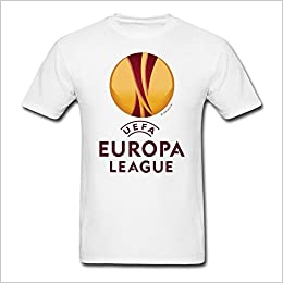 amazon com moyi men s uefa europa league logo t shirt white small books amazon com