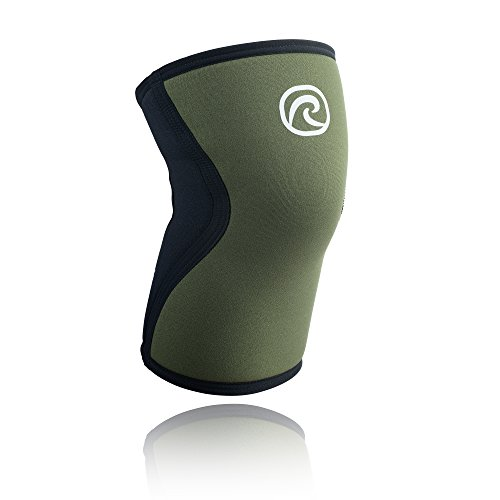 Rehband Rx Knee Support 7751 5mm - Medium - Green- Expand Your Movement + Cross Training Potential - Knee Sleeve for Fitness - Feel Stronger + More Secure - Relieve Strain - 1 Sleeve ()