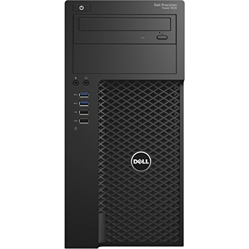 Dell Precision T3620 Mini Tower, Intel Core i5-6500, 16 GB DDR4, 1 TB HDD, Windows 10 Pro, AMD FirePro W5100 4GB (Certified Refurbished)