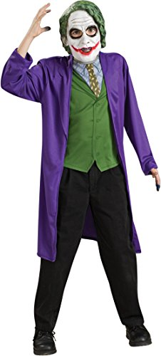 Rubies Batman The Dark Knight Child's The Joker Costume (Joker Costumes For Kids)