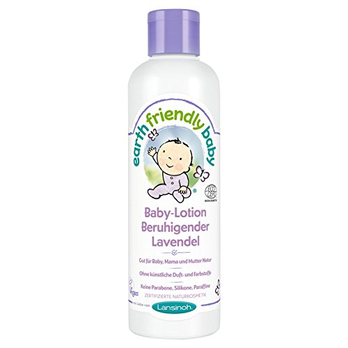 Earth Friendly Baby 82211 Lotion Beruhigender Lavendel, 250 ml