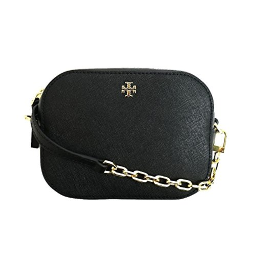 - Tory Burch Black Emerson round cross body, Small