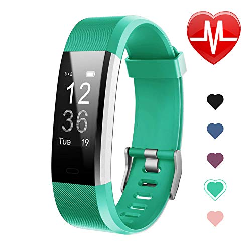 Letsfit Fitness Tracker HR, Activity Tracker Watch with Heart Rate Monitor, IP67 Water Resistant...