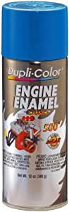 Dupli-Color DE1608 Ceramic General Motors Blue Engine Paint - 12 oz.