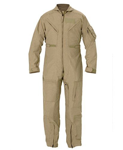 Propper Cwu 27/P Nomex Flight Suit,Air Force Tan,38 Long by Propper