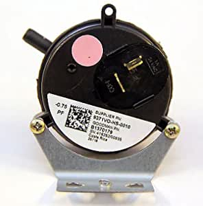 MPL 9371VO-HS-0010//B1370179-0.75 WC Single Port Pressure Switch//W MOUNTING Bracket