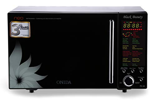 Onida 23 L Convection Microwave Oven (MO23CJS11BN, Black)
