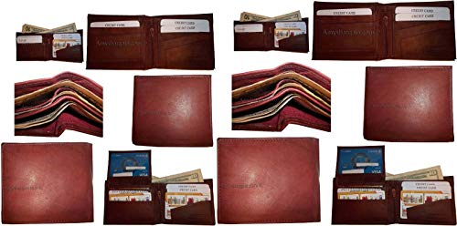 Billfold Lot of Wallet Leather Man's IDs Purse 10 3 2 NWT Change 12 Bifold Card pZqgpFzw