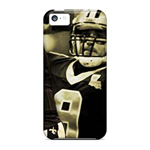 New Zi-3742-IFLVH New Orleans Saints Skin Case Cover Shatterproof Case For Iphone 5c