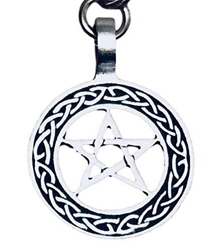 Pentagram Celtic Knot Pentacle Pagan Pewter
