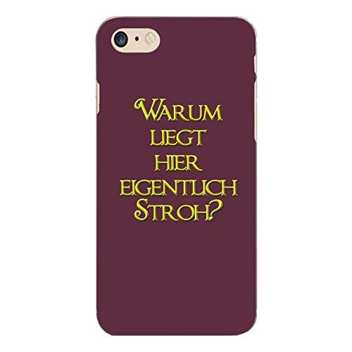 "Disagu Design Case Coque pour Apple iPhone 7 Housse etui coque pochette ""Warum liegt..."""