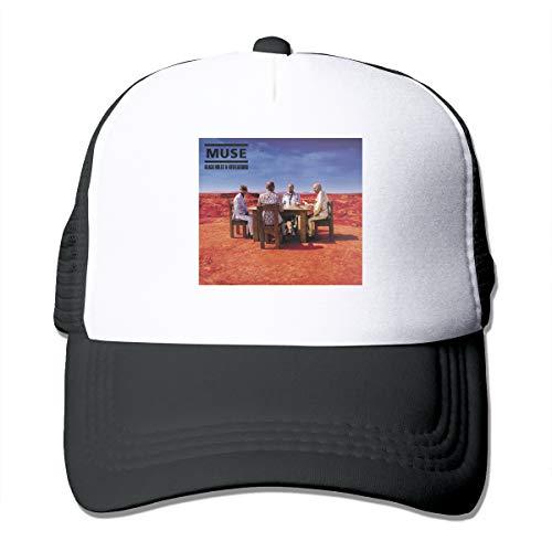 (JamesMSmit Muse Black Holes and Revelations Unisex Breathable Sun Hat,Baseball Cap,Adjustable,Classic Hat,Truck Hat)