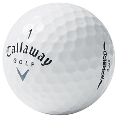 (Callaway Warbird Plus Like New AAAAA Used Golf Balls, 50-Pack)