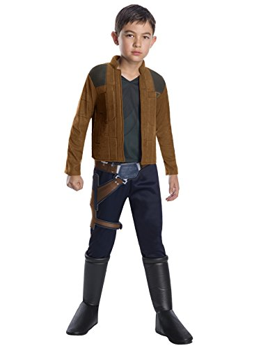 Rubie's Costume Co Unisex-Children Solo: A Star Wars Story Han Deluxe Child's Costume