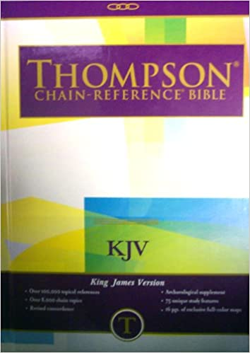 Thompson Chain Reference Bible: King James Version/Brown/513