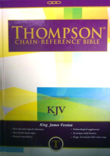 Thompson Chain Reference Bible (Style 515 index) - Large Print KJV - Hardcover