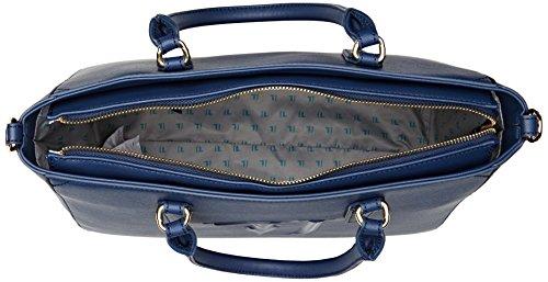 Trussardi Jeans Ischia, Borsa Tote Donna Blu (Blue)