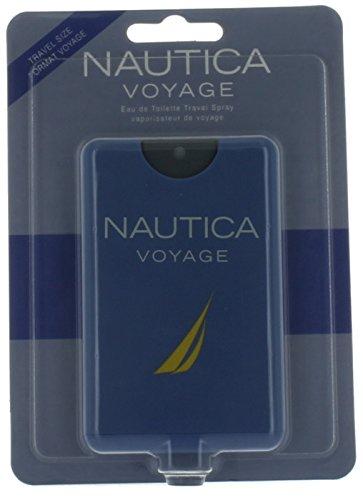 Nautica Voyage by Nautica for Men Mini EDT Cologne Spray 0.67 oz. New in Box