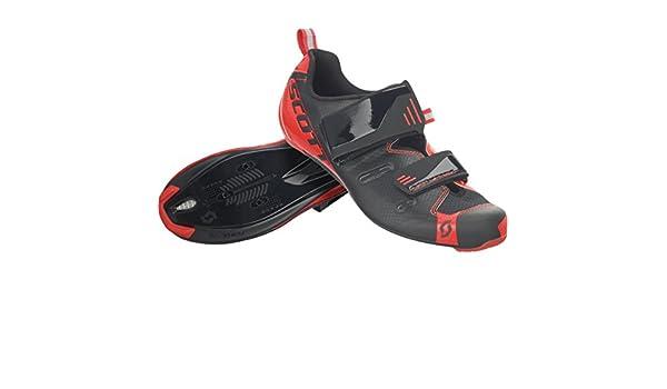 Scott Tri Pro Triathlon bicicleta guantes negro/rojo 2018, hombre, black/neon red gloss, 41: Amazon.es: Deportes y aire libre