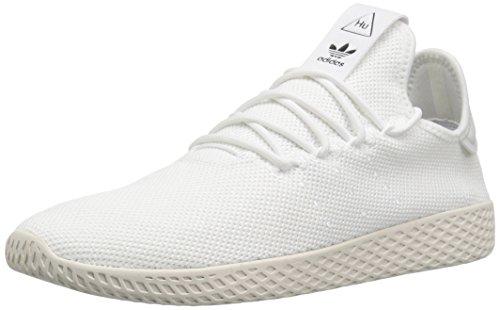 adidas Originals Men's Pw Tennis Hu Running Shoe, Chalk White, 14 M US ()
