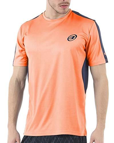 Bull padel Camiseta BULLPADEL IUNET Naranja Fluor: Amazon.es ...